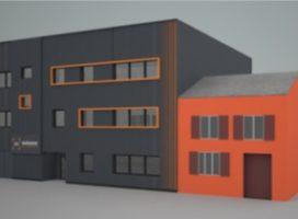 location Bureaux 190m² RENNES 35