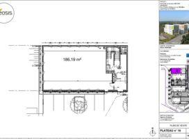 achat Bureaux 186.19m² RENNES 35
