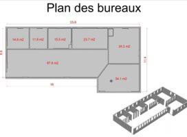 achat Bureaux 228m² PLOERMEL 56