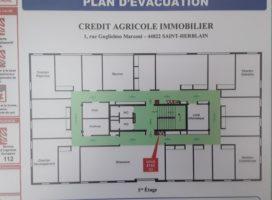 location Bureaux 420m² SAINT HERBLAIN 44