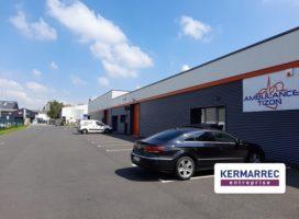 location Local d'activité 160m² RENNES 35